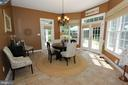 Amazing breakfast room with views of the woods - 4303 SARATOGA SPRINGS CT, MIDDLETOWN