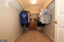 Huge, walk in master closets - 4303 SARATOGA SPRINGS CT, MIDDLETOWN