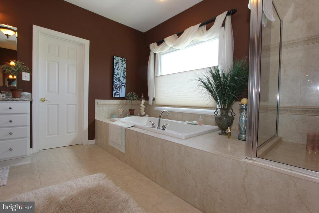 Awesome soaking tub and separate shower - 4303 SARATOGA SPRINGS CT, MIDDLETOWN