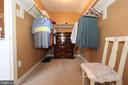 Walk in master closet #2 - 4303 SARATOGA SPRINGS CT, MIDDLETOWN