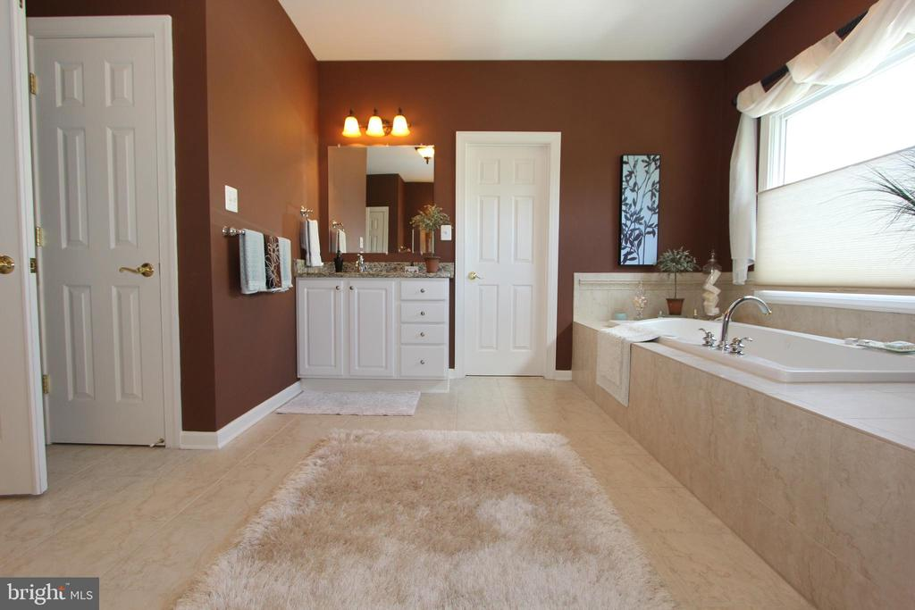 Dual vanities and updated lighting - 4303 SARATOGA SPRINGS CT, MIDDLETOWN