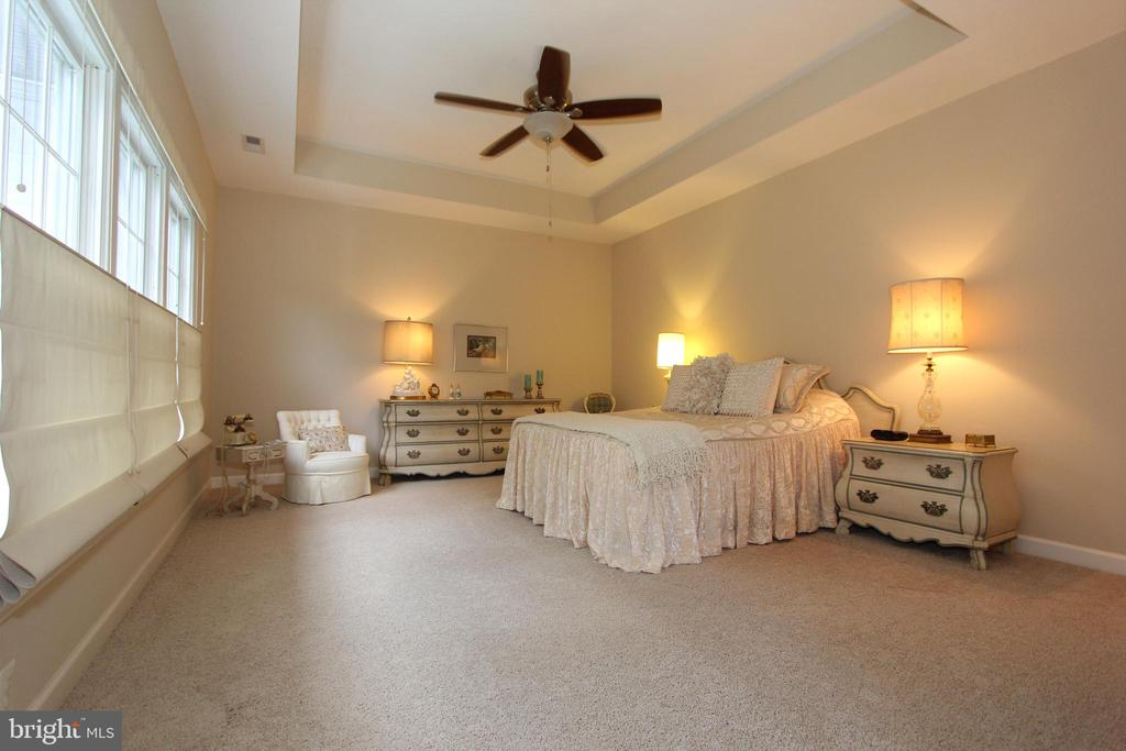 Huge owner's suite with custom draperies - 4303 SARATOGA SPRINGS CT, MIDDLETOWN