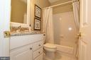 Bathroom 2 with granite counters & ceramic floors - 4303 SARATOGA SPRINGS CT, MIDDLETOWN