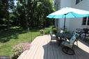 Rear deck, view 2 - 4303 SARATOGA SPRINGS CT, MIDDLETOWN
