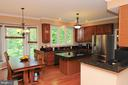 Huge eat in kitchen - 46432 MONTGOMERY PL, STERLING