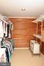 Master closet with cedar - 46432 MONTGOMERY PL, STERLING