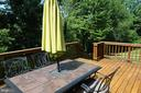 Private deck - 46432 MONTGOMERY PL, STERLING