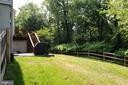 Huge flat backyard - 46432 MONTGOMERY PL, STERLING