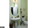 Powder room main level - 6912 WINTER LN, ANNANDALE