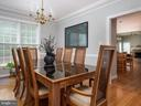 Dining Room - 6912 WINTER LN, ANNANDALE