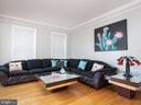 Living Room - 6912 WINTER LN, ANNANDALE