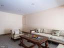 Game area in recreation room - 6912 WINTER LN, ANNANDALE