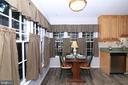 Breakfast Area - 15046 SILVER LEAF CT, DUMFRIES
