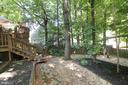 Backyard - 15046 SILVER LEAF CT, DUMFRIES