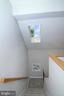 Staircase with Skylight - 15046 SILVER LEAF CT, DUMFRIES