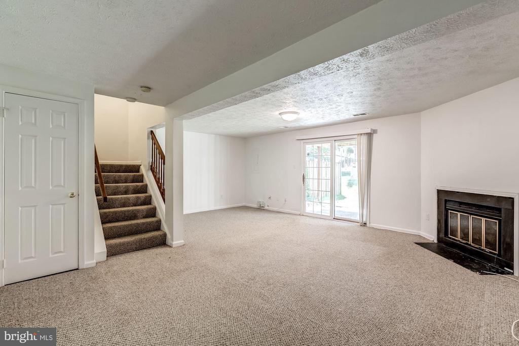 Lower Level with Walk-out to Back Yard - 3892 MOHR OAK CT, FAIRFAX