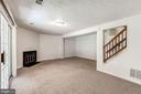 Gas Fireplace and Brand New Carpet - 3892 MOHR OAK CT, FAIRFAX