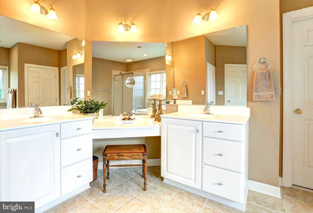 Double sinks with Double vanity - 22910 PEACH TREE RD, CLARKSBURG