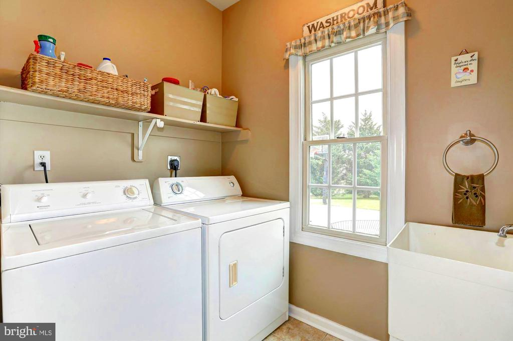 Main Level - Laundry Room - 22910 PEACH TREE RD, CLARKSBURG