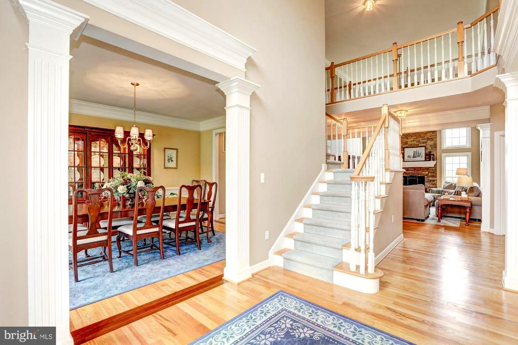 from the moment you enter this beautiful home .. - 22910 PEACH TREE RD, CLARKSBURG