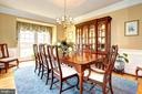 Elegant formal dining - 22910 PEACH TREE RD, CLARKSBURG