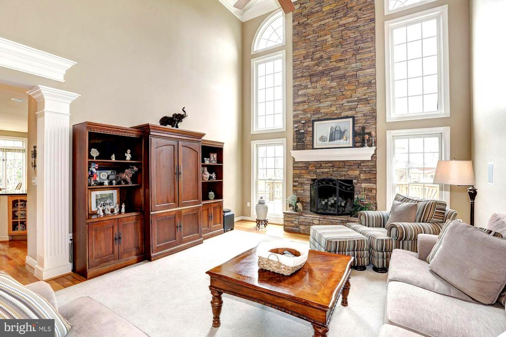 Fabulous entertainment  room - 22910 PEACH TREE RD, CLARKSBURG
