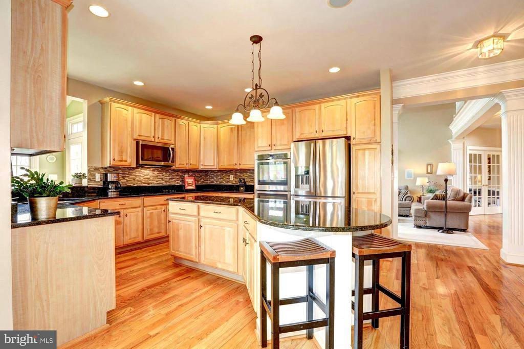 Large Chef's kitchen - Everything Updated! - 22910 PEACH TREE RD, CLARKSBURG