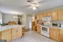 Spacious kitchen - 23266 WATSON RD, LEESBURG