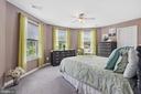 Upper leve Bedroom 2 shares Jack and Jill bathroom - 20193 BROAD RUN DR, STERLING
