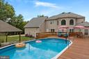 15'X30' Pool with storage bench, vacuum, cover - 20193 BROAD RUN DR, STERLING