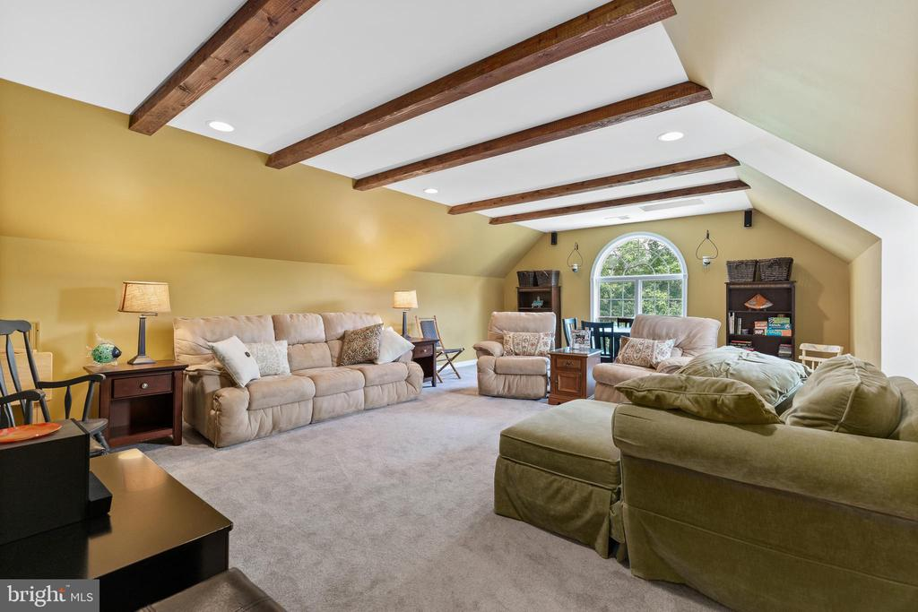 Upper level spacious Bonus Room view from hallway - 20193 BROAD RUN DR, STERLING