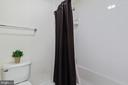 Jack and Jill bath toilet and shower room - 20193 BROAD RUN DR, STERLING