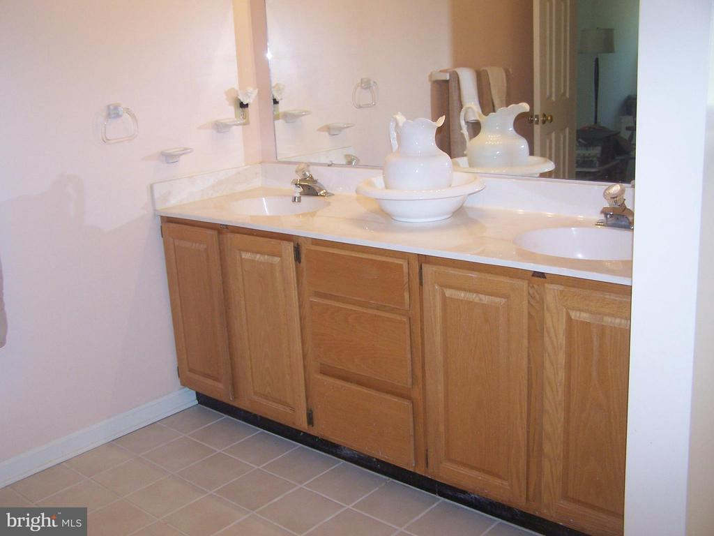 Very large buddy bath between two upper level BR's - 3548 WINDING RD, PARTLOW