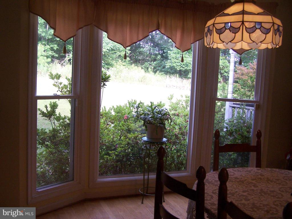Lovely bay window in kitchen eating area - 3548 WINDING RD, PARTLOW