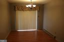 Dining Room leads to rear deck - 11336 WHEELER RD, SPOTSYLVANIA