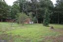 Backyard - 11336 WHEELER RD, SPOTSYLVANIA