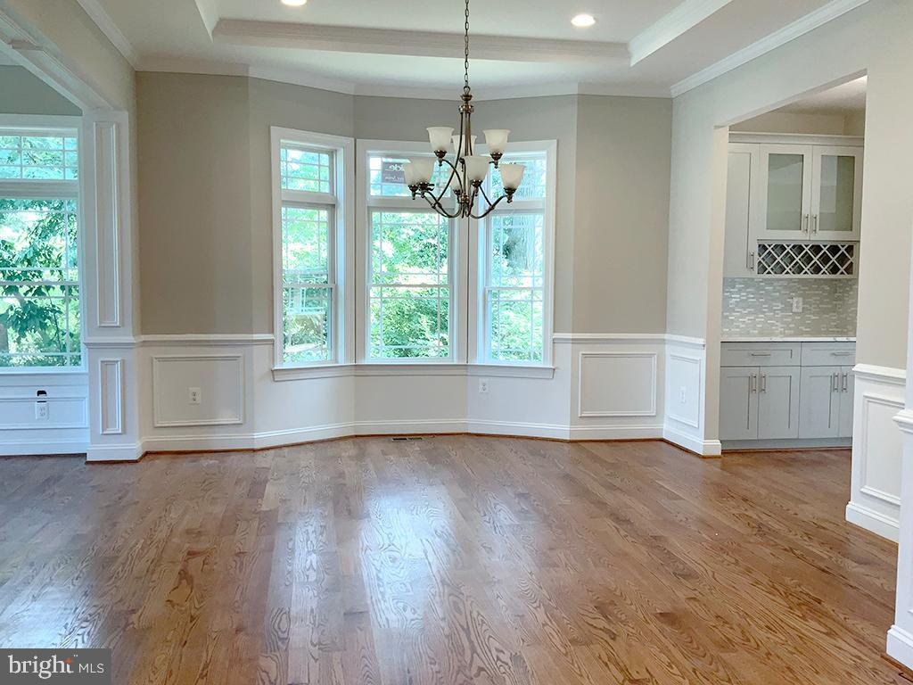 Formal Dining Room with Tray Ceiling - 6617 GREENLEAF ST, SPRINGFIELD