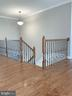 Hardwood on Main Level & Upper Level Hallway - 6617 GREENLEAF ST, SPRINGFIELD
