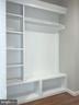 Built In Shelving Near Garage Entry - 6617 GREENLEAF ST, SPRINGFIELD