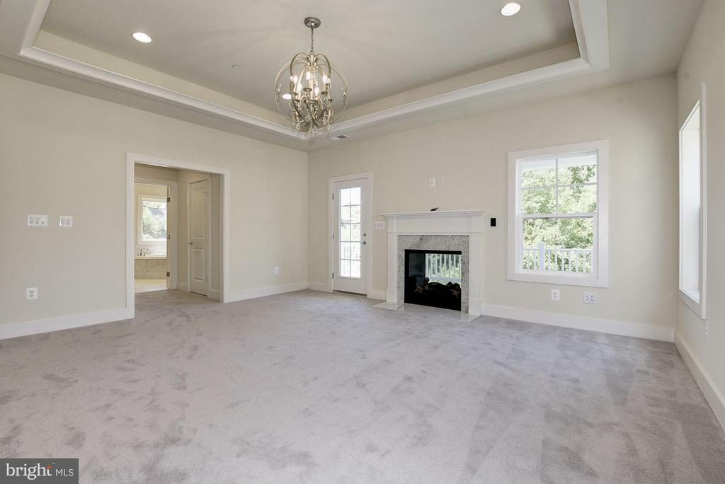 Master Bedroom Suite with walkout balcony! - 10106 DICKENS AVE, BETHESDA