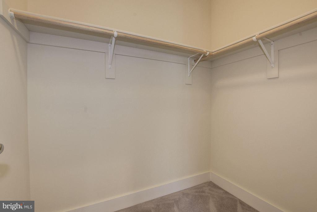 Walk-in closet. - 10106 DICKENS AVE, BETHESDA