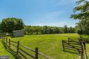Open pasture with fencing and run-in shed - 23009 COBB HOUSE RD, MIDDLEBURG