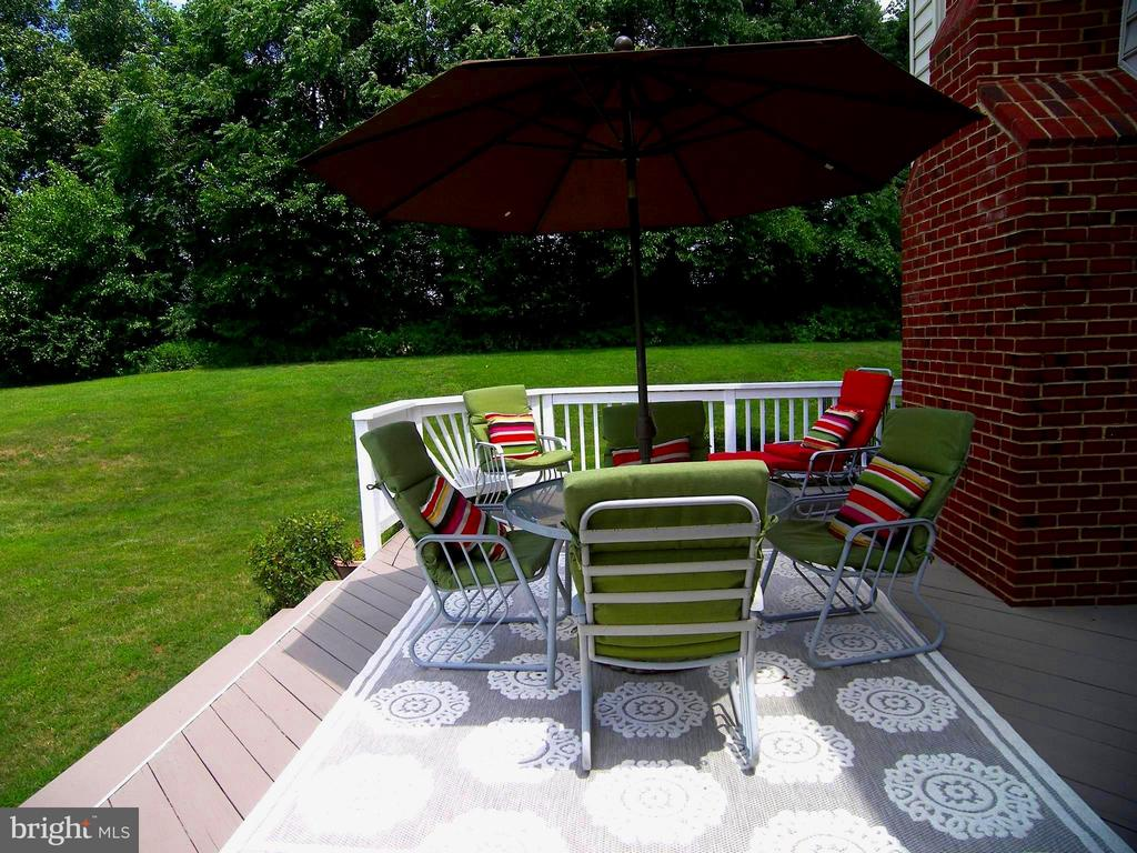Updated deck - 22910 PEACH TREE RD, CLARKSBURG
