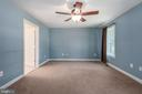 Master bedroom in apartment - 2843 GARRISONVILLE RD, STAFFORD