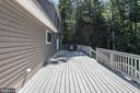 Large deck - 2843 GARRISONVILLE RD, STAFFORD
