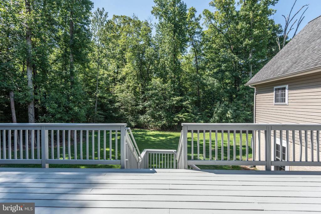 Deck View - 2843 GARRISONVILLE RD, STAFFORD
