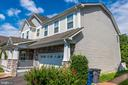 Thickened double garage door with remote control - 18494 QUANTICO GATEWAY DR, TRIANGLE