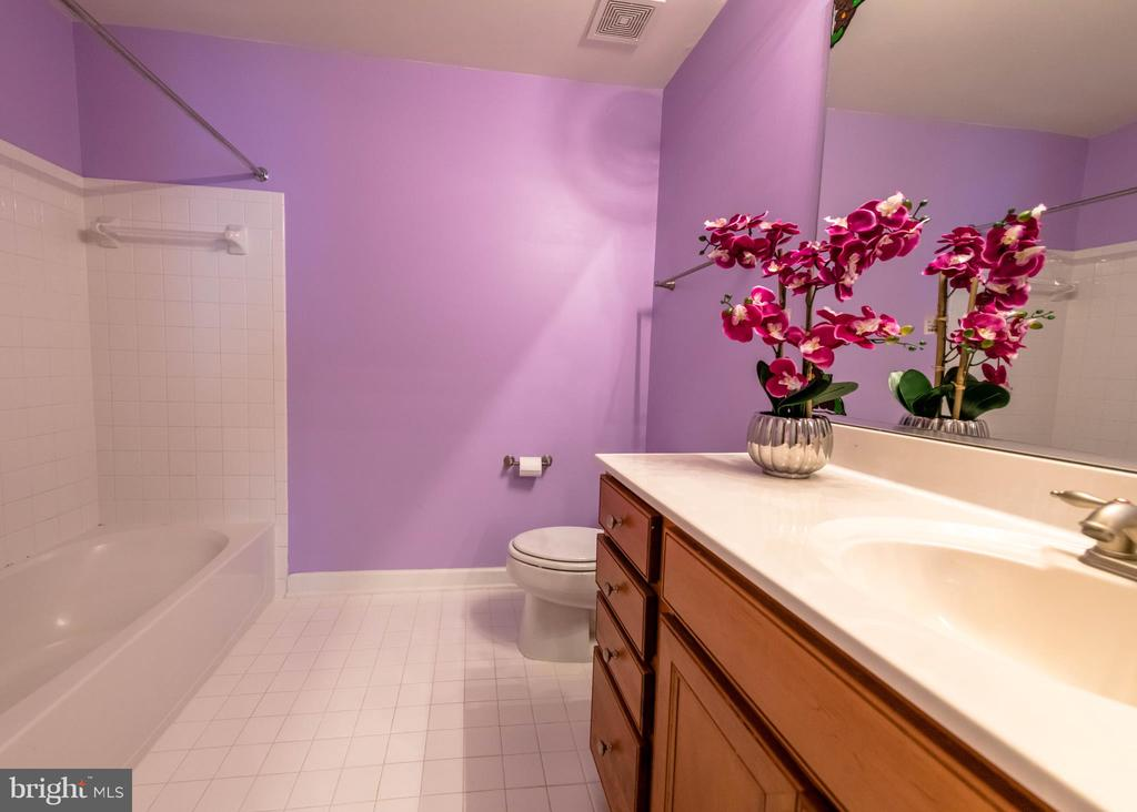 Full bathroom  can be access from hall way - 18494 QUANTICO GATEWAY DR, TRIANGLE