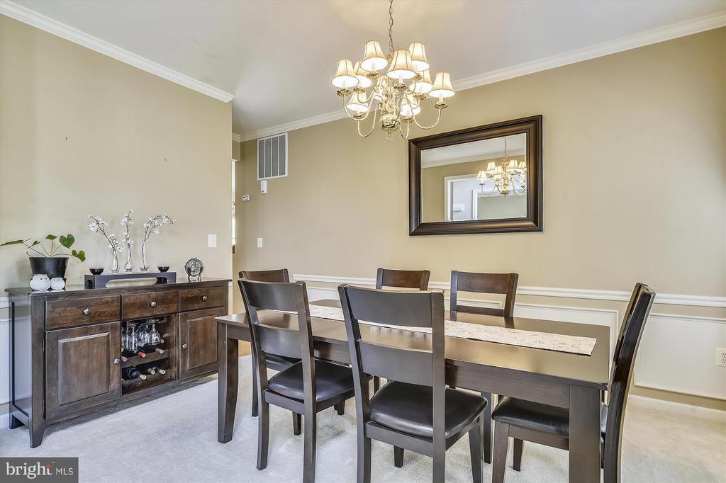 Formal Dining Room - 9309 MICHAEL CT, MANASSAS PARK