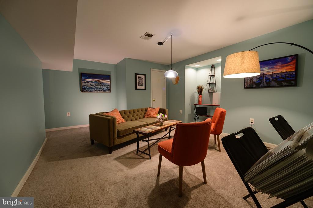Lower level Rec room - 324 LOUDOUN ST SW, LEESBURG